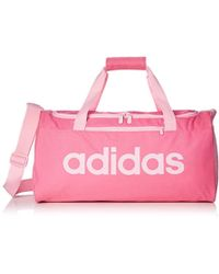 d9d4d4d76b adidas Linear Teambag Extrasmall Women s Sports Bag In Pink in Pink ...