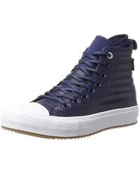 Converse - Unisex Adults' Ctas Wp Boot Hi Midnight Navy/wolf Grey Top Trainers - Lyst