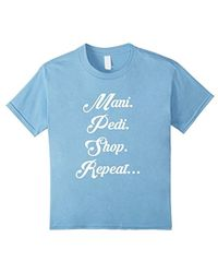 American Apparel - Girls Day Out Manicure & Pedicure T-shirts Tees Top - Lyst