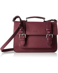 Armani Jeans - Double Buckle Shoulder Bag - Lyst