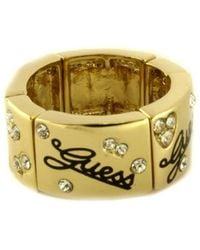 b0ae64d9af60 Anillos Guess de mujer desde 12 € - Lyst