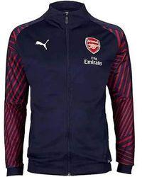 PUMA - Arsenal Fc Stadium Jacket With Sponsor - Lyst