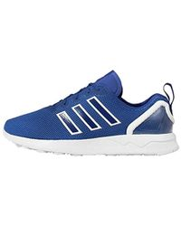 15f0b69ff adidas   s Zx Flux Adv Trainers in Blue for Men - Lyst