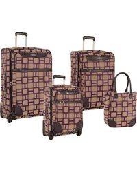 Nine West - 4 Piece Softside Luggage Set - Lyst