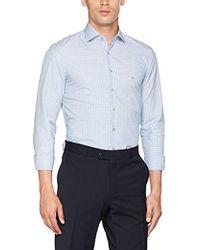 611098a71d7b Calvin Klein - Rome Fitted Fec Business Shirt - Lyst