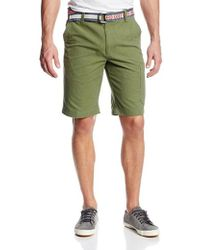 G.H.BASS - Pigmented Belted Short - Lyst
