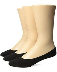 Tommy Bahama - 3 Pack Relax Loafer Liner Sock - Lyst