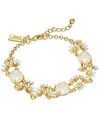 """Kate Spade - Ate Spade New York""""bracelet"""" Loves Me Loves Me Not White Multi Bracelet - Lyst"""