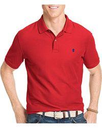 Izod - - Short Sleeve Advantage Pique Polo - Lyst