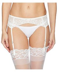 Betsey Johnson - Perfectly Sexy Lacey Garter Belt - Lyst