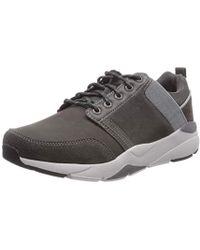 Skechers Recent-Meroso, Zapatillas para Hombre - Gris
