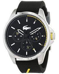 Lacoste - Cadrans Quartz Montres bracelet avec bracelet en Silicone - - Lyst