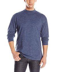 Pendleton - Deschutes Mock Neck Shirt - Lyst