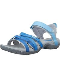 0045b74e992b Teva Tirra Sports And Outdoor Lifestyle Sandal in Blue - Save ...