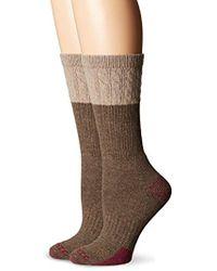Carhartt - 2 Pack Merino Wool Blend Tectured Crew Socks - Lyst