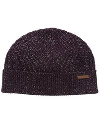 Ted Baker - Teahat Knitted Rib Beanie Hat - Lyst