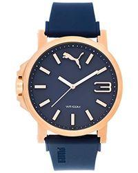 PUMA - Reloj Analógico para Hombre de Cuarzo con Correa en Plástico  PU103461021 - Lyst c414a8463508