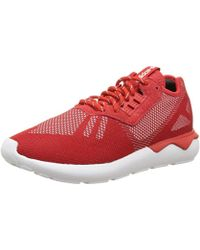 e8cc1ca4b adidas - Unisex Adults  Tubular Runner Weave Competition Running Shoes -  Lyst