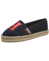 fb6f1bd83083de Tommy Hilfiger Fw0fw02263 Women s Espadrilles   Casual Shoes In Red ...