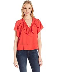 Plenty by Tracy Reese - Flounded Blouse - Lyst