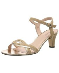 c8160a44c12 Delfy Wave Ankle Strap Sandals