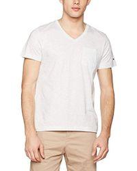 Tommy Hilfiger - Htr End V-nk Tee S/s Rf T-shirt - Lyst