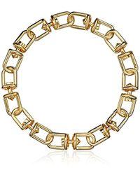 Eddie Borgo - Fame Link Collar Chain Necklace - Lyst