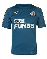 PUMA - 2018-2019 Newcastle Training Football Soccer T-shirt (corsair) - Lyst