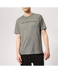 535bc6908 The North Face Short Sleeve Raglan Red Box T-shirt in Blue for Men ...