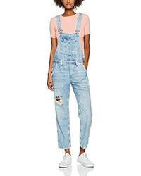 69c34130543 TOPSHOP Jodie Daisy Print Wrap Jumpsuit By Nobody s Child in Blue - Lyst
