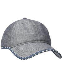 Keds - Chambray Baseball Cap - Lyst