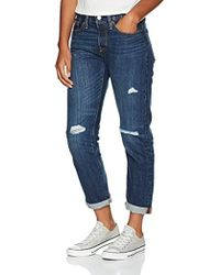 Levi's - 501 Tapered Boyfriend Jeans Amazon Exclusive - Lyst