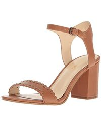 Nine West - Gurl Leather Dress Sandal - Lyst