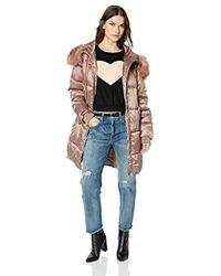 41952487d41 Lyst - Jessica Simpson Plus-size Tulip Faux Suede Jacket Bleached ...