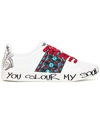 bb7c32fbe8ff3 Desigual - Shoes (cosmic exotic Tropical) Low-top Trainers - Lyst