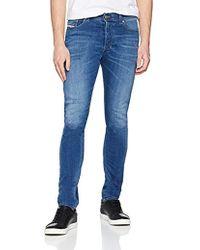 DIESEL - Tepphar Trousers Slim Jeans - Lyst