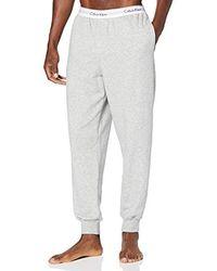 Calvin Klein Jogger Pantalon De Sport Homme - Gris