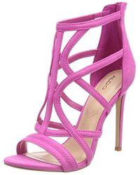521d30a1679e ALDO -   s Tifania Open Toe Sandals - Lyst