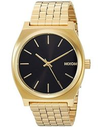 Nixon - Time Teller A045. 100m Water Resistant Watch (37mm Stainless Steel Watch Face) - Lyst