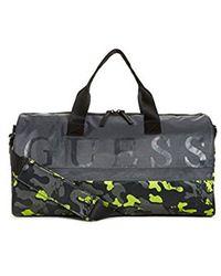 Guess - Graffiti Duffel Gml - Lyst