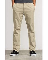 RVCA - All Time Chino Pant - Lyst