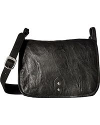 Frye - Veronica Buckle Messenger Crossbody Handbag - Lyst