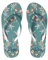 Roxy - Portofino Flip Flop Sandals - Lyst
