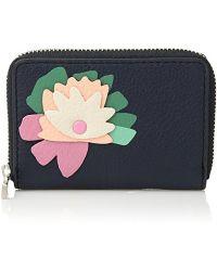 Fossil - Rfid Mini Zip Wallet Wallet - Lyst