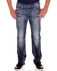 56b8736a DIESEL - Viker Regular 0885k Slim Straight-leg Jean - Lyst