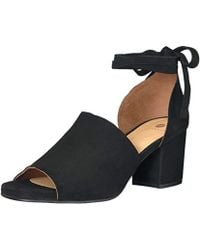 H by Hudson - Metta Suede Dress Sandal - Lyst