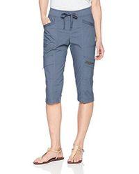 Lee Jeans - Petite Relaxed Fit Margeaux Knit Waist Cargo Capri Pant - Lyst