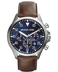 Michael Kors Herren-Uhr MK8362 - Blau
