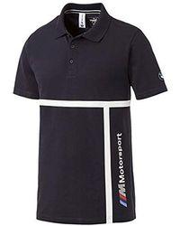 143db7ef PUMA Bmw Motorsport Polo Shirt in Gray for Men - Lyst