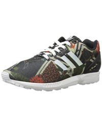 6a6137b97 Lyst - adidas Originals Originals Zx Flux Black Trainers in Black